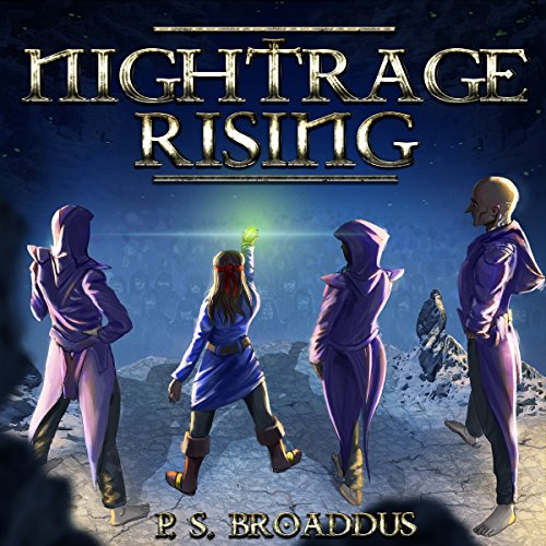 Nightrage Rising audiobook cover art