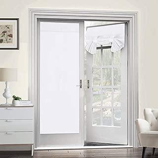 Room Darkening French Door Curtains for Tricia Window Door Curtains Thermal Curtain/Drape/Drapery Single Door Curtain (26