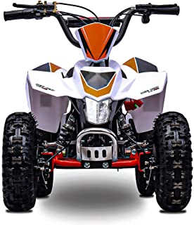 Fit Right 2020 Sahara Kids 24V Mini Quad ATV, Dirt Motor Electric Four Wheeler Parental Speed Control, with 350W Motor Pow...