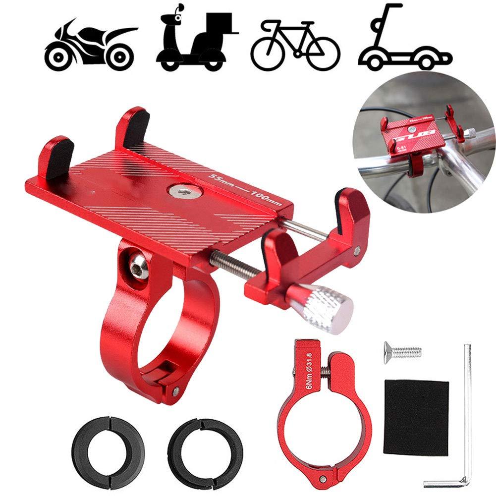 QZH Soporte para teléfono de Bicicleta, Soporte para teléfono de ...