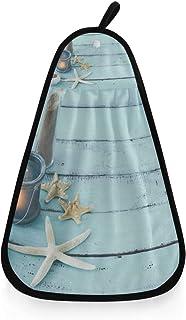 XiangHeFu Asciugamano da Bagno Starfish Seashell Luxury Sport Ultra Soft Altamente Assorbente Multiuso