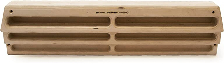 Escape Climbing Unlimited Hangboard | Premium Wood Training Tool for Grip Strength and Conditioning | Rock Climbing | Bouldering | Fingerboard | Pull Up Bar Workout and Exercise