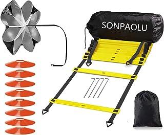 نردبان چابکی SONPAOLU برای آموزش سرعت چابکی