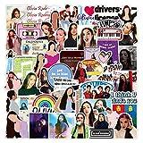 Singer Olivia Rodrigo Stickers Pack of 50pcs...