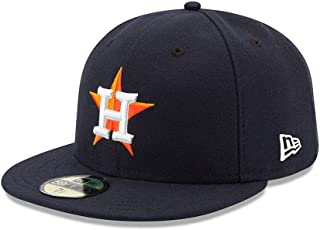 New Era 59FIFTY Houston Astros Navy MLB 2017 Authentic Collection On Field Home Fitted Cap