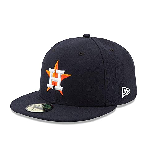 huge discount afd9c 2c26f New Era 59FIFTY Houston Astros Navy MLB 2017 Authentic Collection On Field  Home Fitted Cap