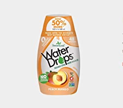 Sweetleaf Stevia Natural Water Drops Peach Mango, 1.62 Ounce (Pack of 6)