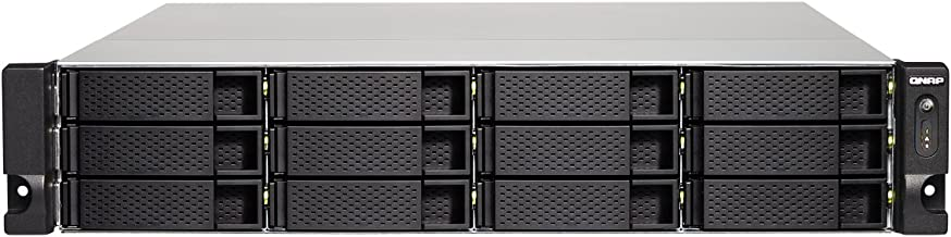 QNAP TS-1273U-RP-8G-US 2U 12-Bay NAS/iSCSI IP-SAN, 10GbE, Redundant PSU