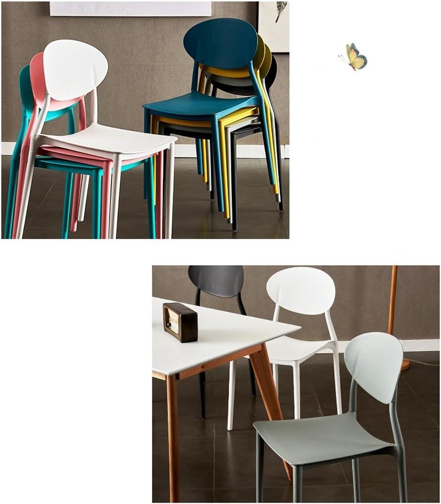 Chaise de salle à manger moderne simple chaise créative occasionnelle (Couleur : A) C