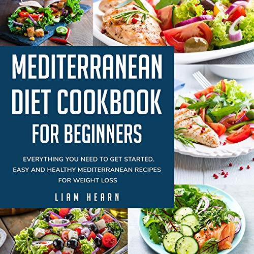 Mediterranean Diet Cookbook for Beginners audiobook cover art
