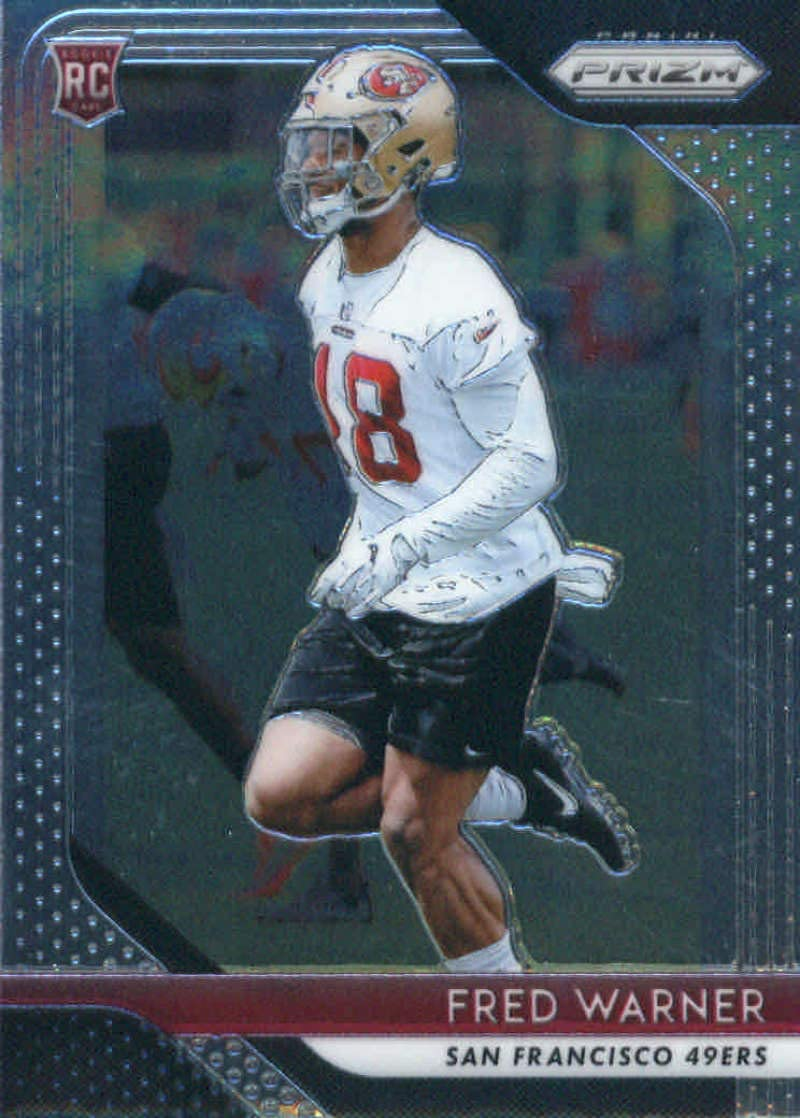 2018 Panini Prizm Football #257 Rookie Fred Warner RC San Super Sale special price beauty product restock quality top