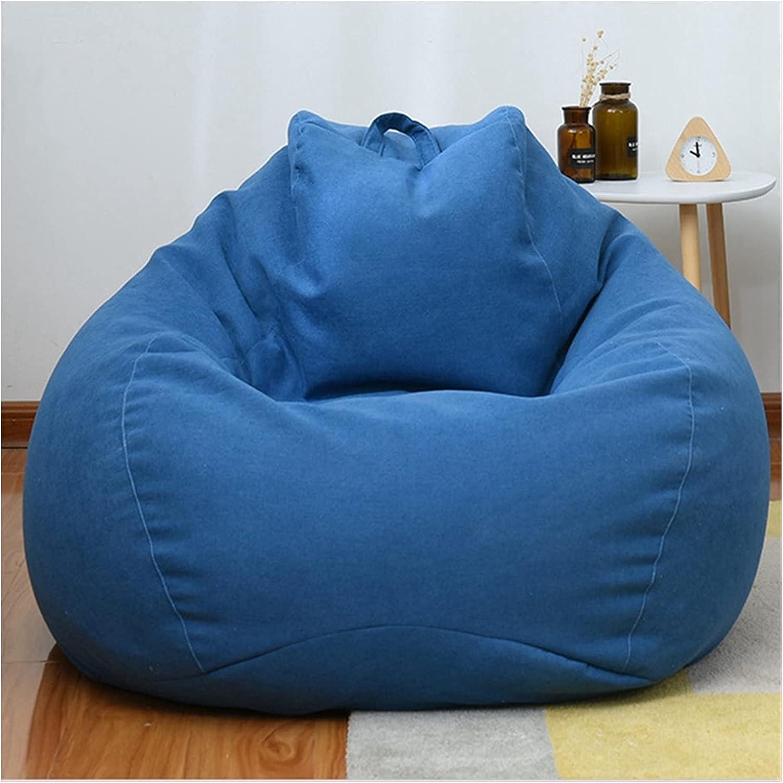 ppqq Comfortable Manufacturer OFFicial shop Bean Bag Chair Sofa Cover Al sold out. Linen Cotton