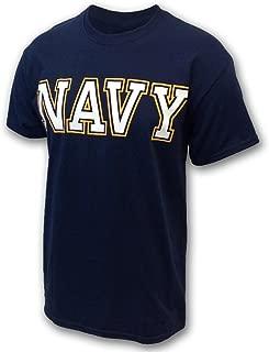 Armed Forces Gear Men's US Navy Logo T-Shirt