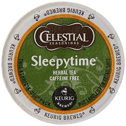 Celestial Seasonings Sleepytime Tea K-Cup, 12-Count, Green (SYNCHKG034514)