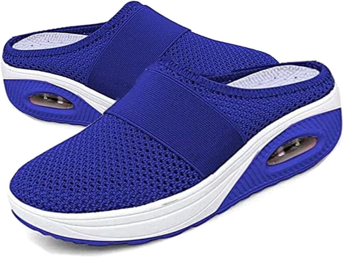 MLOD Women's Air Cushion Slip-On Walking Shoes-Orthopedic Diabet