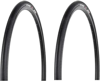 Hutchinson Sector 28 Tubeless Ready Road Bike Tires, 2-Pack (Black, 700x28)
