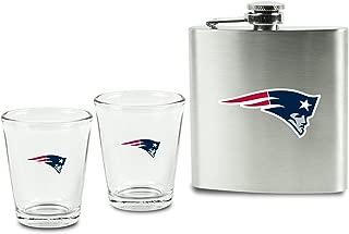 patriots shot glass