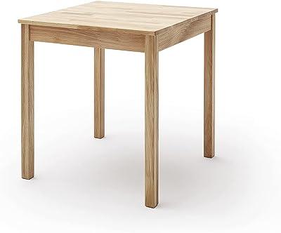Robas Lund Table en Bois Massif, Chêne Sauvage, BxHxT 50x76x70 cm