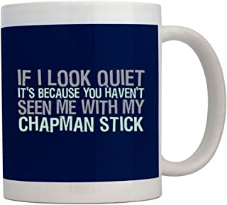 Teeburon If I Look Quiet Its Because You Havent Seen me with my Chapman Stick Taza