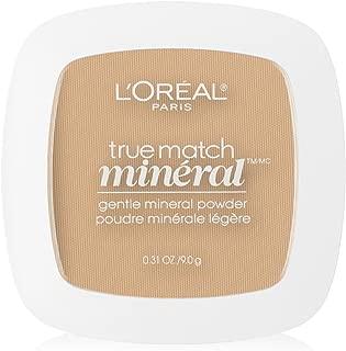 L'Oreal Paris True Match Mineral Pressed Powder, Nude Beige, 0.31 Ounce