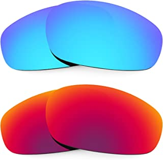 Replacement Lenses for Oakley Split Jacket 2 Pair Combo Pack K005