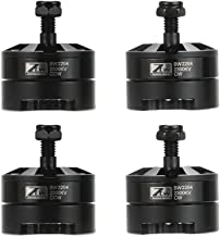 JIMI 2 Pairs Original ZTW Black Widow 2204 2300KV Brushless CW/CCW Motor with Built-in 18A ESC 2 in 1 Series for QAV250 Racing Drone