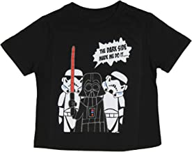 Star Wars Little Boys Darth Vader the Dark Side Made Me Do It T-Shirt