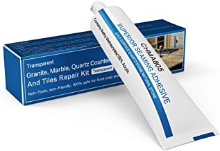 Granite, Marble, Quartz Countertops and Tiles Repair Kit - Fix Chips & Defects| Restore Tiles & Countertops with Ease | fo...