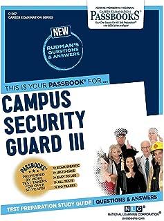 Campus Security Guard III (567) (Career Examination Series)