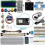 KOOKYE NodeMCU IOT Starter Kit Based on ESP8266 Support WiFi MQTT and Arduino IDE