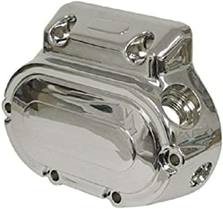 Tuning_Store Chrome Transmission End Cover for Harley 5-Speed Big Twin Evo Dyna Softail 87+ Cool Tuning