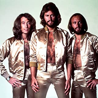 bee gees Poster Print Size 24x18 Decoration semi Gloss Paper