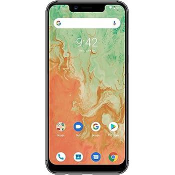 UMIDIGI A3X SIMフリースマートフォン Android 10 HD+ 5.7インチ ディスプレイ 2 + 1カードスロット 16MP+5MPデュアルカメラ 13MPフロントカメラ グローバルLTEバンド対応 両面2.5D曲線ガラス 3GB RAM + 16GB ROM(256GBまでサポートする) 顔認証 指紋認証 技適認証済 au不可「ミッドナイトグリーン」