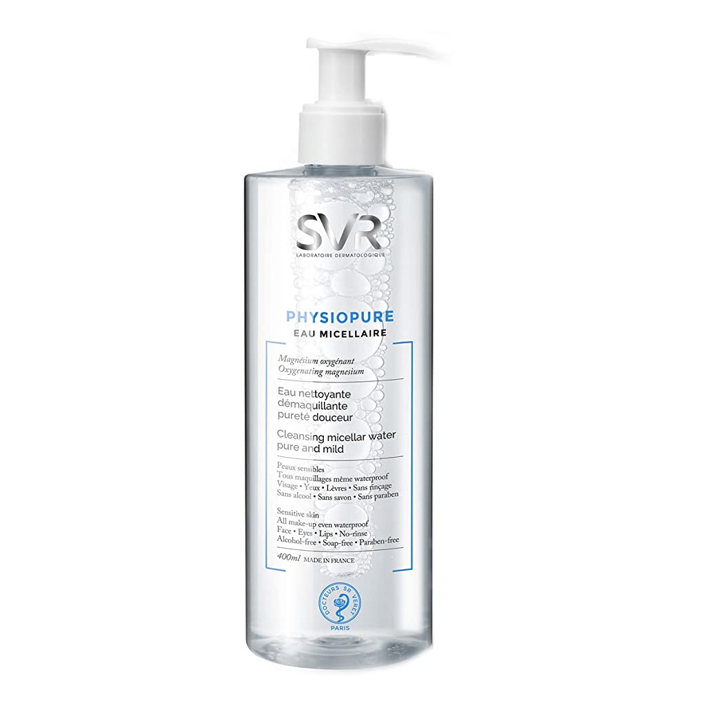 分散頑固なバックSvr Physiopure Cleansing Micellar Water 400ml [並行輸入品]