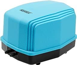Aquaneat Aquarium Air Pump up to 300Gal w/Two Outlets Ultra Quiet Oxygen Aerator Pump
