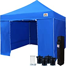 Best heavy duty pop up tent with sides Reviews