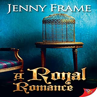 A Royal Romance audiobook cover art