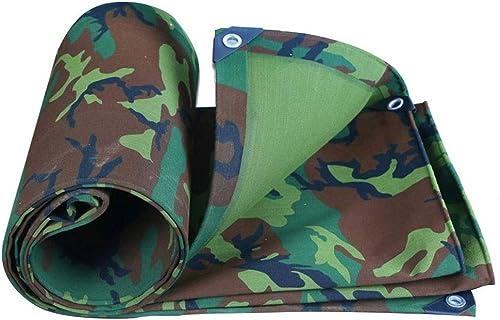 XZ15 Bache Toile de Camouflage Militaire épaissie imperméable Tissu imperméable Prougeection Solaire bache canopée Huile canopée Tente Tissu de Pluie (Taille   2  3m)