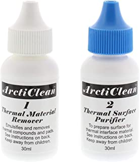 ArctiClean 60ml Kit 1 & 2 Thermal Grease Paste Compound Remover and Purifier (Limited Edition)