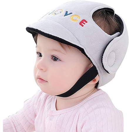 Borlai Casco de Seguridad para Bebés Gorro Protector para Niños Gorro Protector para La Cabeza Ajustable para Niño Niña