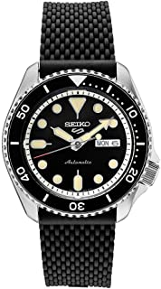 Seiko SRPD95 Seiko 5 Sports Men's Watch Black 42.5mm Stainless Steel