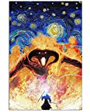 AZSTEEL Balrog and Gandalf Lord of The Rings Poster |
