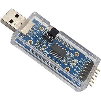 DSD TECH USB zu TTL Seriell Adapter Konverter mit FTDI FT232RL Chip Kompatibel mit Windows 10, 8, 7 und Mac OS X