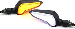 Universal High Brightness Motorcycle LED Turn Signal Light + Day light for Yamaha MT-09 Kawasaki Z800 Suzuki GSX Honda CBR1000 CBR600 Amber White