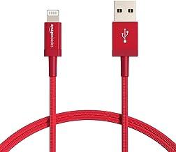 AmazonBasics Nylon Braided Lightning to USB Cable - MFi...