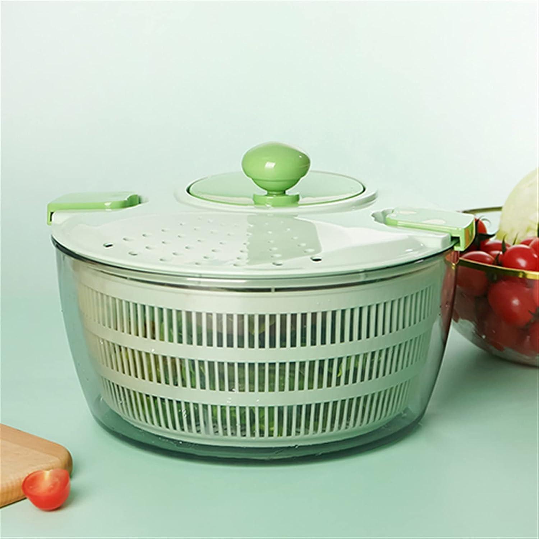 Salad Bargain sale Spinner Max 58% OFF Vegetable And Basket Drain Fruit Dehydra