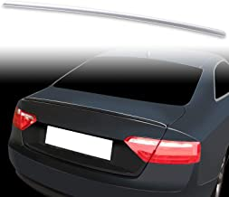 FYRALIP Painted Factory Print Code Trunk Lip Wing Spoiler For 2007-2016 Audi A5 B8 B8.5 Coupe Convertible Fast Delivery Easy Installation Perfect Fit - LY9B Brilliant Black