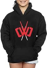 Teen Boys Girls CWC Chad Wild Ninja Swords Long Sleeve Pullover Hoodies Hooded Sweatshirts with Pocket
