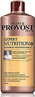 Franck Provost Shampoo Professionale Expert Nutrition +, Shampoo con Olio di Cocco per Capelli Nutriti e disciplinati, 750...