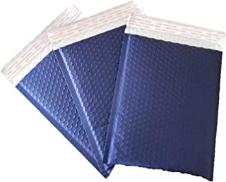 ProLine Metallic Silver Bubble Padded Shipping Mailers 8.5x12 Inch Self Seal Padded Envelopes 100